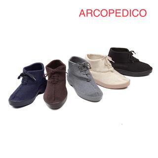 アルコペディコ(ARCOPEDICO)のアルコペディコ 外反母趾にも優しい メッシュニットブーツ(ブーツ)