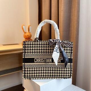 クリスチャンディオール(Christian Dior)のChristian Dior クリスチャン ディオール トートバッグ 千鳥格(その他)
