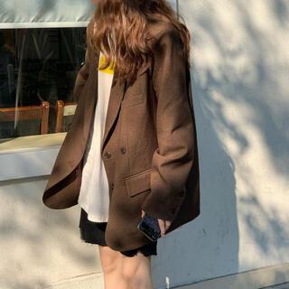 dholic - udresser ダブルブレストエスプレッソジャケット