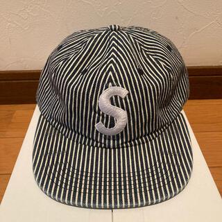 シュプリーム(Supreme)のsupreme Sロゴ denim cap(キャップ)