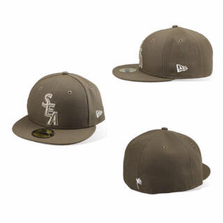 ニューエラー(NEW ERA)の【Lサイズ 7 1/2】 new era wind and sea sea (キャップ)