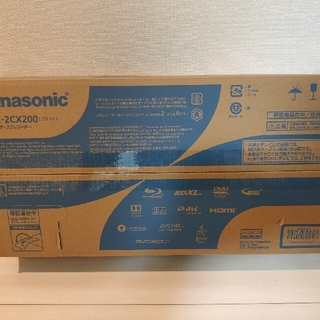 Panasonic - Panasonic ブルーレイ DIGA DMR-2CX200