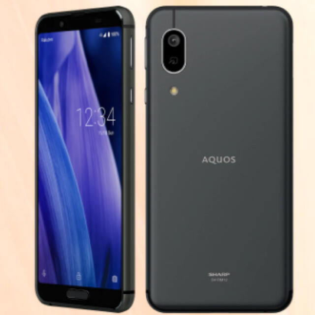AQUOS(アクオス)のAQUOS sense3 lite ブラック 新品 未開封 スマホ/家電/カメラのスマートフォン/携帯電話(スマートフォン本体)の商品写真