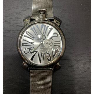 ガガミラノ(GaGa MILANO)の美品 ガガミラノ マヌアーレ スリム46 スモールセコンド 5080.3 メン(腕時計(アナログ))