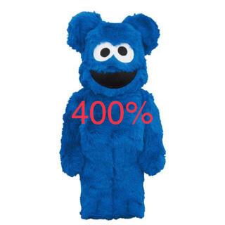 メディコムトイ(MEDICOM TOY)のBE@RBRICK COOKIE MONSTER 400% ベアブリック(その他)
