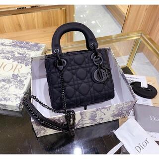 クリスチャンディオール(Christian Dior)のChristian Dior  レディー ショルダーバッグ 黒(その他)