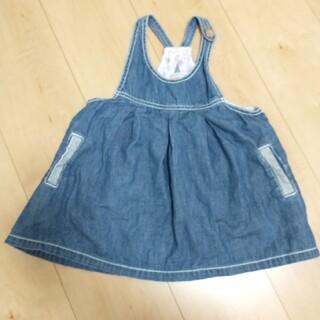 ズッパディズッカ(Zuppa di Zucca)のジャンバースカート ワンピース  95サイズ(ワンピース)