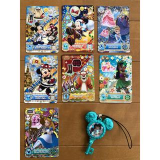 ディズニー(Disney)のディズニー マジックキャッスル キラキラシャイニー カード 鍵(カード)