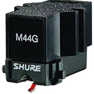 SHURE DJ フォノ カートリッジ M44G リード線付き 送料無料(レコード針)