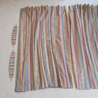 サンゲツ オーダーカーテン 大小4枚セット(カーテン)