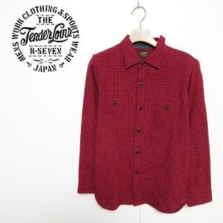 テンダーロイン(TENDERLOIN)のTENDERLOIN テンダーロイン ウールチェックシャツ(シャツ)