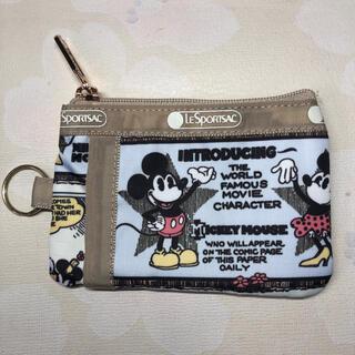 レスポートサック(LeSportsac)のミッキーコインケース電車カードケース レスポートサック(コインケース/小銭入れ)