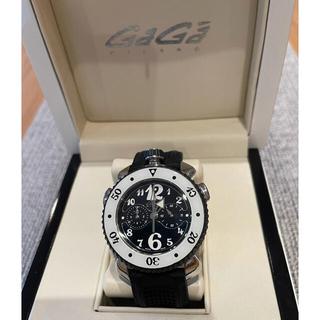 ガガミラノ(GaGa MILANO)のガガミラノ  スポーツクロノ 極美品(腕時計(アナログ))