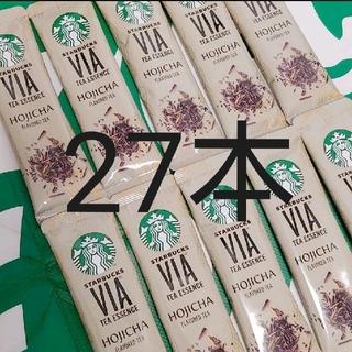スターバックスコーヒー(Starbucks Coffee)の◇27本◇ スターバックス VIA ヴィア ティーエッセンス ほうじ茶(茶)