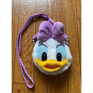 ディズニー(Disney)の【DISNEY】デイジーのパスケース&コインケース付き(名刺入れ/定期入れ)