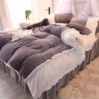 即日発送 大人気 綺麗 ふわふわあったか軽量寝具カバーシングル3点セット(シーツ/カバー)