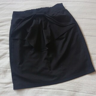 エージーバイアクアガール(AG by aquagirl)のAG by aquagirl*フロントのリボンが可愛いスカート*M(ミニスカート)