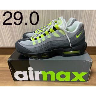 "NIKE - NIKE AIR MAX 95 OG ""NEON YELLOW"" 2020 29"