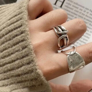 BEAUTY&YOUTH UNITED ARROWS - 大人気なため再入荷!tear drop ring silver925 2点セット