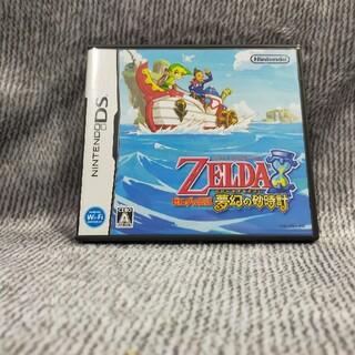 ニンテンドーDS(ニンテンドーDS)の任天堂DS/ゼルダの伝説 夢幻の砂時計(携帯用ゲームソフト)