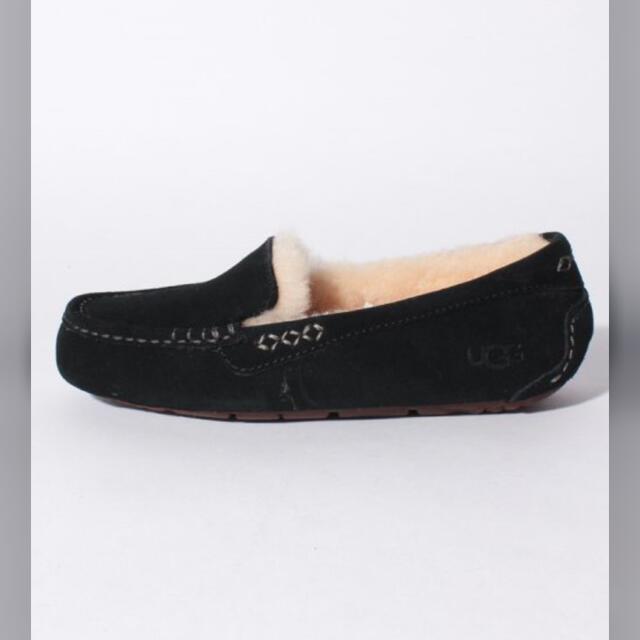 UGG(アグ)のUGG モカシン アンスレー.ブラック.新品 レディースの靴/シューズ(スリッポン/モカシン)の商品写真