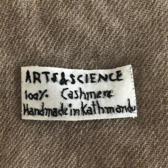 arts&science Square scarf M レディースのファッション小物(マフラー/ショール)の商品写真