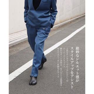 【売り切り】CINOH テーパードスラックス BLUE 46