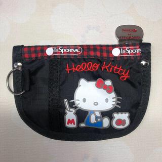 レスポートサック(LeSportsac)のレスポートサック コインケースポーチ  電車カードケース ハロ―キティ(コインケース/小銭入れ)