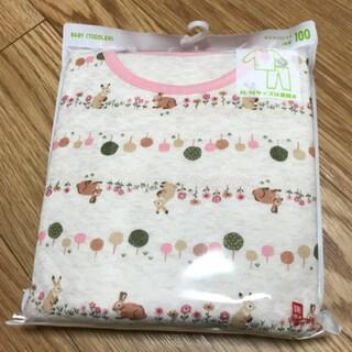 UNIQLO - ユニクロ☆キルトパジャマ☆100☆UNIQLO☆定価1650円