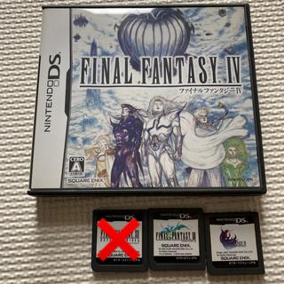 ニンテンドーDS(ニンテンドーDS)のファイナルファンタジー Ⅲ IV Ⅻ レヴァナント・ウイング(携帯用ゲームソフト)