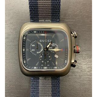 グッチ(Gucci)の2.3回 GUCCI グッチ クーペ クロノグラフ 131.2 クォーツ メン(腕時計(アナログ))