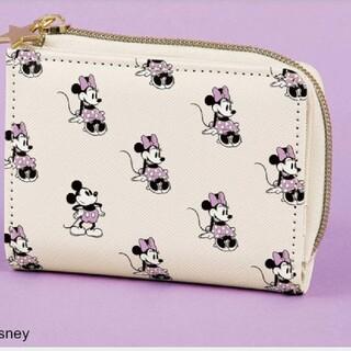 Disney - スイート付録ミッキーミニコンパクト財布