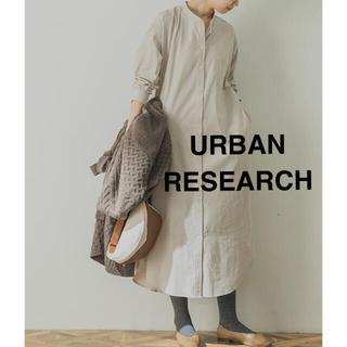 URBAN RESEARCH - 【新品】アーバンリサーチ ロングシャツ