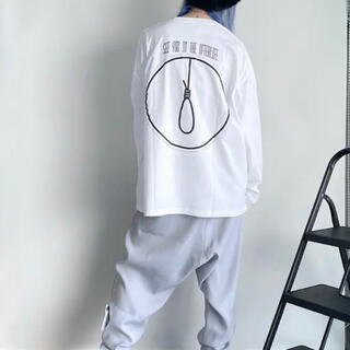 isxnot suicide long sleeve white(Tシャツ/カットソー(七分/長袖))