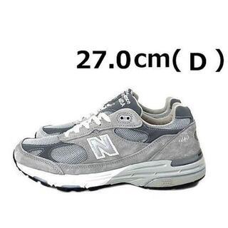 New Balance - ニューバランスMR993GL(D//US9/27.0cm)グレー190303