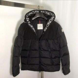 モンクレール(MONCLER)のMonclerモンクレールダウンジャケット 艶無しの黒色のマーク(その他)