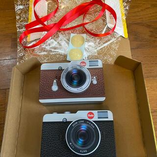 KALDI - 2021 カルディカメラ缶 ブラック&ブラウン2個セット