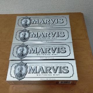 マービス(MARVIS)の【匿名配送/送料無料】 MARVIS ホワイトニング ミント 85mL 4本(歯磨き粉)