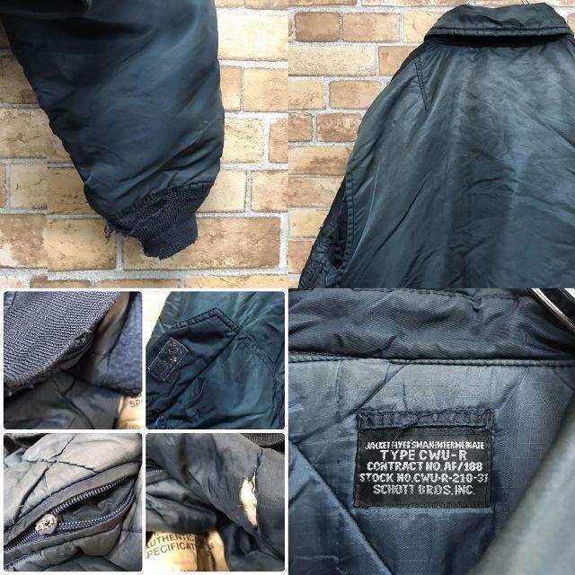 schott(ショット)の【ショット】中綿ジャケット CWU ミリタリー フライトジャケット メンズのジャケット/アウター(その他)の商品写真