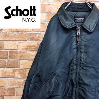 ショット(schott)の【ショット】中綿ジャケット CWU ミリタリー フライトジャケット(その他)