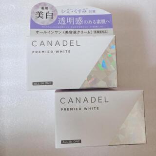 カナデル  プレミアムホワイト  オールインワン  2つ(オールインワン化粧品)