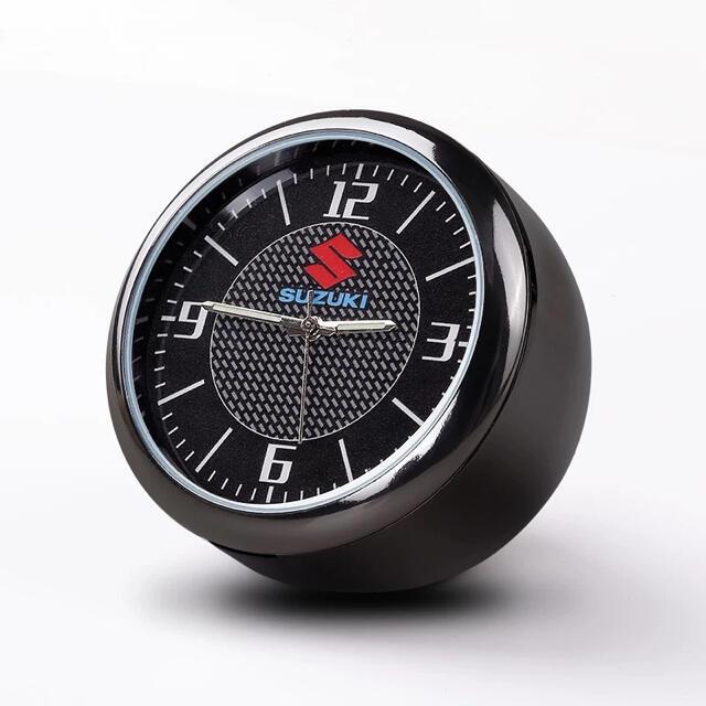 鈴木クオーツ時計 車載用 エアコン吹き出し口 オンボード 自動車/バイクの自動車(車内アクセサリ)の商品写真