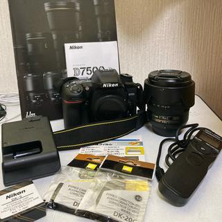 Nikon - NIKON D7500+18-70レンズセット
