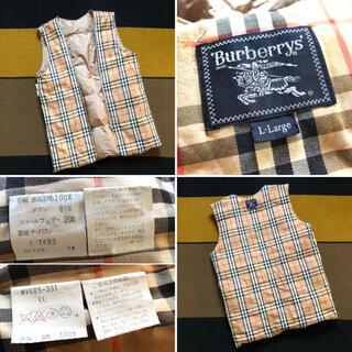 バーバリー(BURBERRY)のBurberrys ノバチェック ライナーダウンベスト バーバリーズ バーバリー(ダウンベスト)