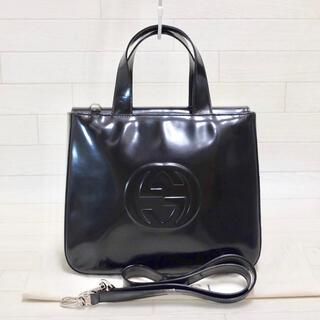 Gucci - ☆美品・シリアル付☆ グッチ GUCCI パテント 2way ハンドバッグ