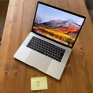 Apple - 2 MacBook Pro 15インチ 2017 16GB i7 512GB