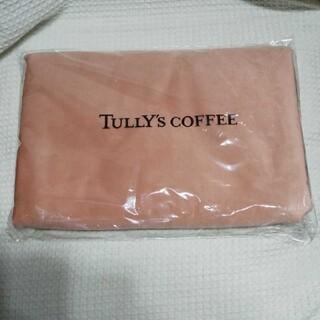 TULLY'S COFFEE - タリーズ 福袋 ブランケット ピンク ひざ掛け スタバ