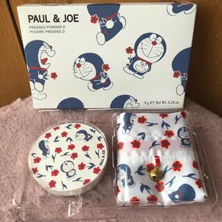 ポールアンドジョー(PAUL & JOE)の新品 ポール&ジョー  限定品 ドラえもんコラボ プレストパウダー D 001(フェイスパウダー)