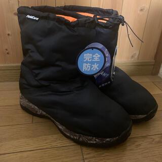 ウォークマン(WALKMAN)の防寒ブーツ ケベックNEO(ネオ)ワークマン ブラック LLサイズ(ブーツ)