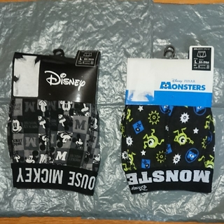 ディズニー(Disney)のミッキーマウス モンスターズインク ボクサーパンツ(ボクサーパンツ)